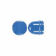 37BL Мех Колпачек высокий для ламп до 54 мм синий