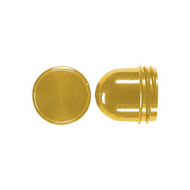 37GE Мех Колпачек высокий для ламп до 54 мм желтый