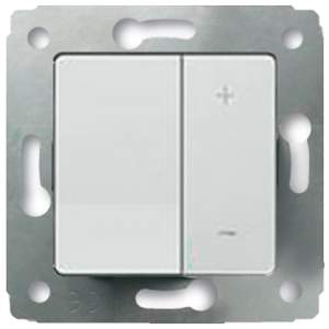 773615 Cariva Бел Светорегулятор нажимной для л/н 500W