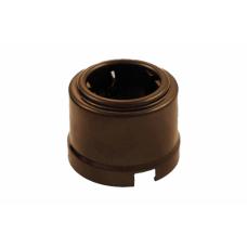 B1-101-02 розетка с заземл. конт.,цвет коричневый