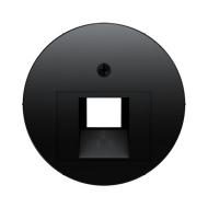 Berker 453814072045 Телефонная розетка UAE 8-полюсная цвет: черный серия  купить в Москве, цена в России: опт, розница | smartip