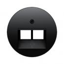 453914092045 Телефонная розетка UAE 8/8-полюсная цвет: черный