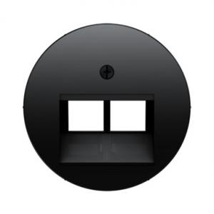 Berker 453914092045 Телефонная розетка UAE 8/8-полюсная цвет: черный серия  купить в Москве, цена в России: опт, розница | smart