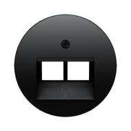 Berker 455514092045 Розетка UAE 8/8-полюсная, экранированная цвет: черный серия  купить в Москве, цена в России: опт, розница |