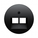 455514092045 Розетка UAE 8/8-полюсная, экранированная цвет: черный