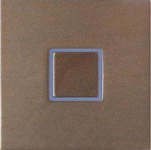 Tacto лицевая панель, закрытая, бронза арт.111-05