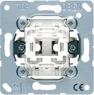 502U Мех Выключатель 1-клавишный 2-х полюсной