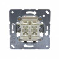 505-20U Мех Выключатель 2-клавишный 20А (винт зажим)