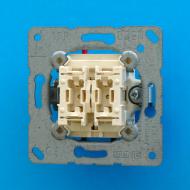 505KOVU5 Мех Выключатель 2-клавишный контрольный для управления жалюзи 10А 250В