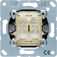 505TU Мех Выключатель 2-клавишный возвратно нажимной