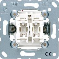 505U5 Мех Выключатель 2-клавишный с подсветкой
