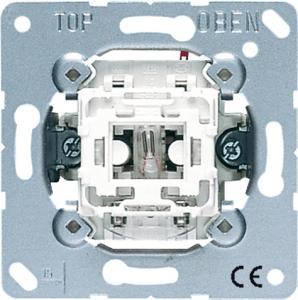 506KOU Мех Переключатель 1-клавишный возм контрольной подсветки, с N-клеммой