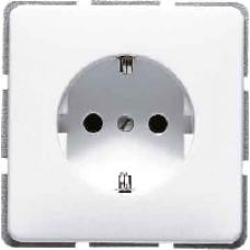 521ZKIBF CD 500/CD plusБеж Розетка с/з с защитными шторками винт зажим