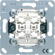 535U5 Мех Выключатель 2-клавишный кнопочный с подсветкой(2 НО контакта)