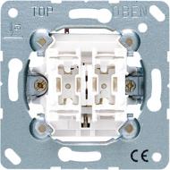 539VU Мех Выключатель жалюзийный кнопочный с мех блокировкой