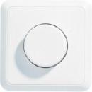 5544.02VWW CD 500/CD plusБел Светорегулятор для л/н в сборе с рамкой 60-400W
