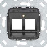 560200 Опорное кольцо Modular Jack 2 2 местный