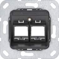 560600 Опорное кольцо Modular Jack 6 2 местный
