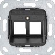 560800 Опорное кольцо Modular Jack 8 2 местный