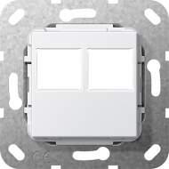 562903 Вставка Modular Jack 2-местн. LexCom