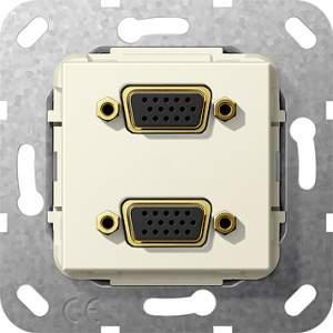 565401 Разъем VGA 2 местн.