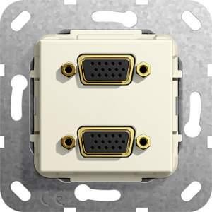565501 Разъем VGA 2 местн.