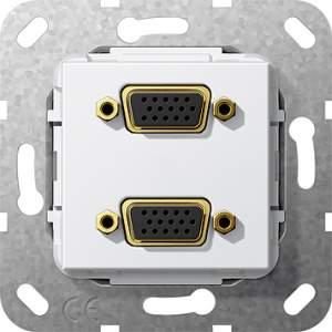 565503 Разъем VGA 2 местн.