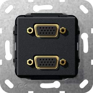 565510 Разъем VGA 2 местн.