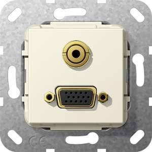 565801 Разъем VGA, мини гнездо