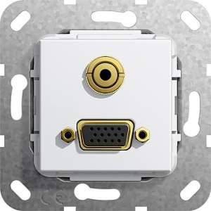 565803 Разъем VGA, мини гнездо