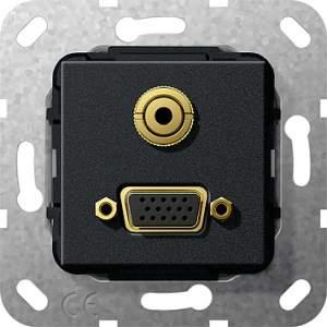 565810 Разъем VGA, мини гнездо