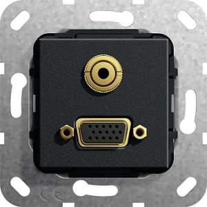 565910 Разъем VGA, мини гнездо