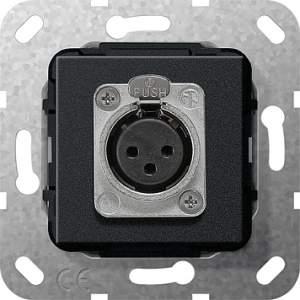 566710 Гнездо XLR серии D