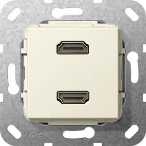 567101 Разъем HDMI 2 местн.