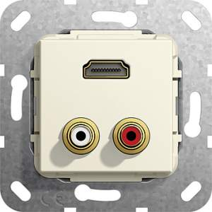 567301 Разъем HDMI, тюльпан аудио