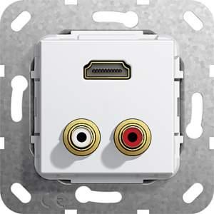 567303 Разъем HDMI, тюльпан аудио