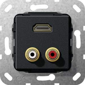 567310 Разъем HDMI, тюльпан аудио