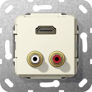 567401 Разъем HDMI, тюльпан аудио