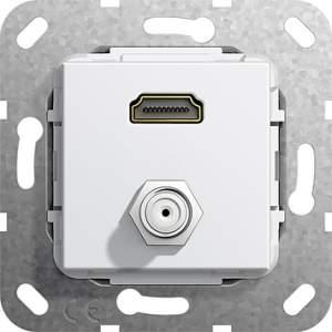 567503 Разъем HDMI, гнездо SAT F