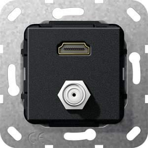 567510 Разъем HDMI, гнездо SAT F