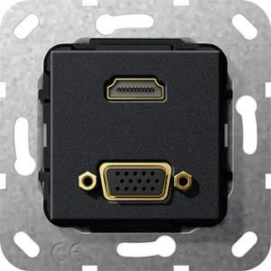 567710 Разъем HDMI, VGA