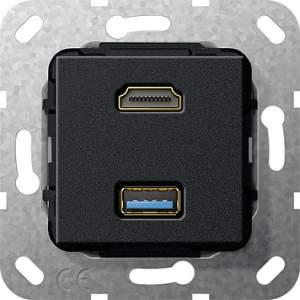 567810 Разъем HDMI, USB 3.0 A