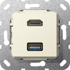 567901 Разъем HDMI, USB 3.0 A
