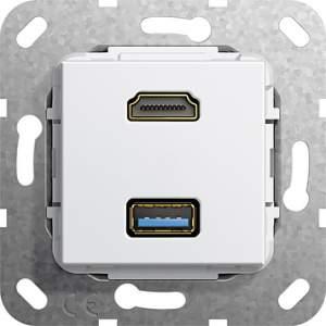 567903 Разъем HDMI, USB 3.0 A
