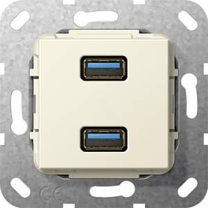568401 Разъем USB 3.0 A 2 местн.