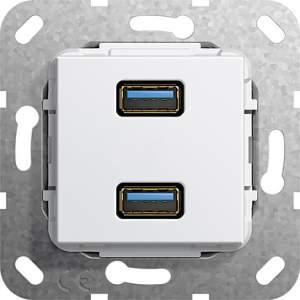 568403 Разъем USB 3.0 A 2 местн.