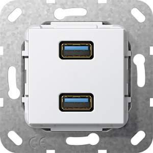 568503 Разъем USB 3.0 A 2 местн.
