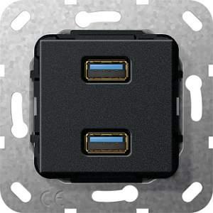 568510 Разъем USB 3.0 A 2 местн.