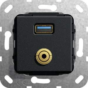 568610 Разъем USB 3.0 A, M гнездо