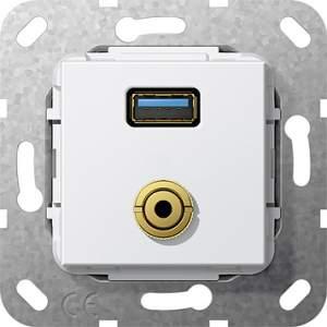 568703 Разъем USB 3.0 A, M гнездо
